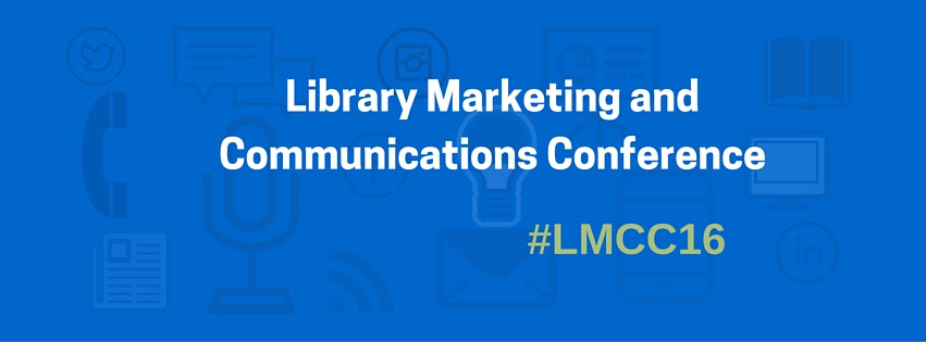Library Marketing and Communications Conference Banner