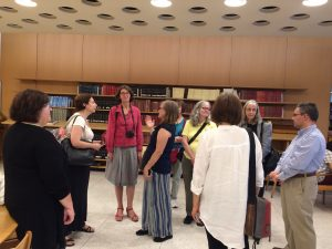 Picture of librarians at Dag Hammarskjold Library
