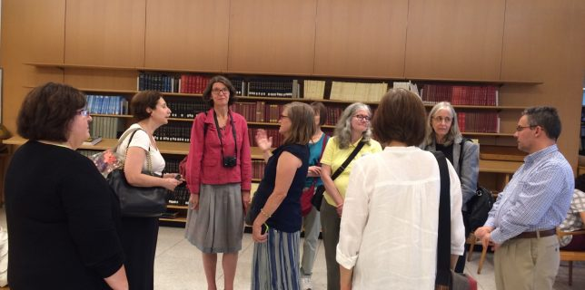 "Photos from ""A Tour of the Dag Hammarskjold Library at the United Nations"""